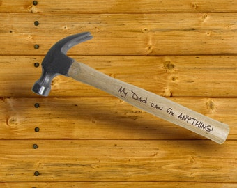 Engraved Hammer Personalized with name or Custom Engraved Quote 16 oz Hammer Christmas husband Fathers Day groomsman best man Gifts for Guys