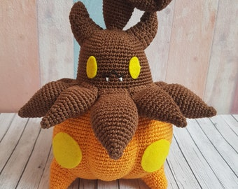 Pokemon Amigurumi Irrbis / Pumpkaboo / Made to order!