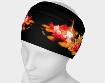 Candle Lit Flowers Headband