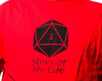 Critical Fail t-shirt