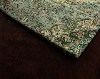 "Art silk tapestry woven ""Termeh"" paisley rug tablecloth runner furniture"
