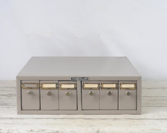 6 Drawer Cabinet Fisherbrand Tray Drawers File Drawers File Cabinet Storage #6