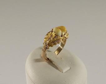 Ring Costume Jewelry Gold 333 Grandeln Goldsmith GR373