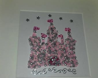 Fairytale Castle Bead Picture