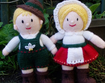 PDF Knitting Pattern - Hansel and Gretel