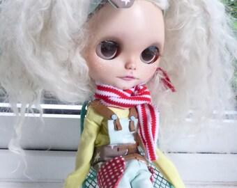 Blythe Jumpsuit, Tee & Scarf  (BD20116)
