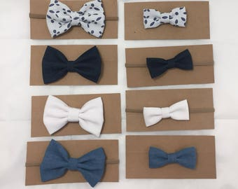 Denim Collection Hair Bow (Sold Individually)
