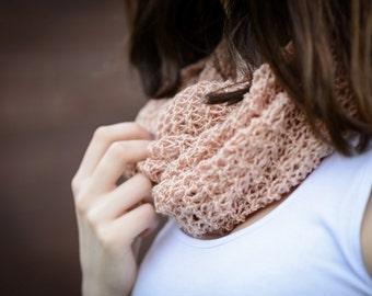 Pink knit shawl , Pale Pink Shawl,  Handemade Shawl , Elegant female shiny shawl,    Losse knit shawl, Mother's day gift , Ready to ship