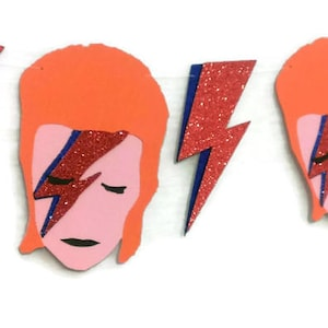 Ziggy Stardust Party, David Bowie Party Banner