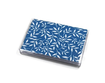 Card Case Mini Wallet Vine Teal