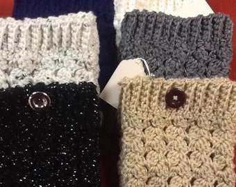 Crochet boot cuffs, boot toppers, handmade