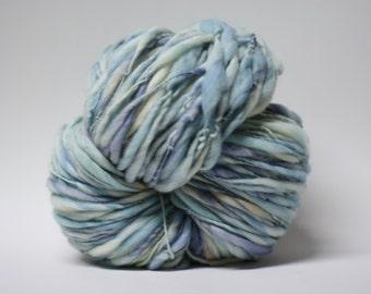 Merino Handspun Wool Thick and Thin Yarn Slub  tts(tm) Hand dyed Half-Pounder miniLR 1502x