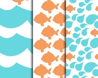 Goldfish Pattern Sheets
