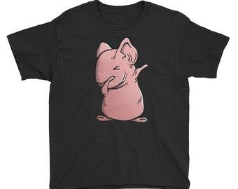 Skinny Guinea Pig Youth Short Sleeve T-Shirt