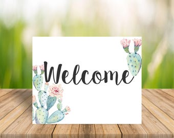 Image result for welcome cactus