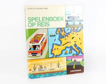 Vintage Children's Books-play book on tour-Alain and Gérard Grée, 1970