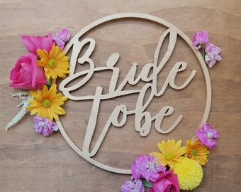Bride to Be sign. Hens night wood sign