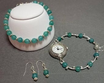 Amazonite and Sterling Silver Trio!