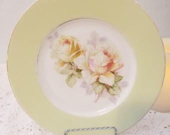 Austria HUB roses plate