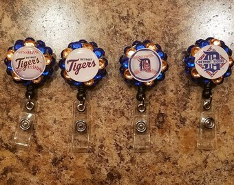 Detroit Tigers ID Badge Reel
