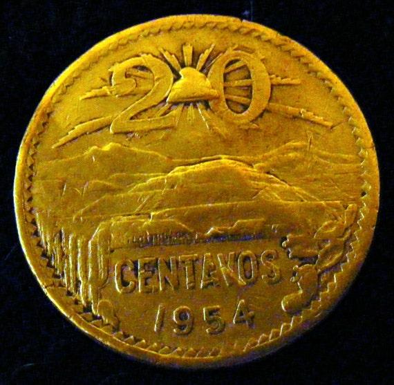 1954 20 CENTAVOS . . Great Investment . .