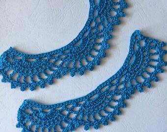 Crochet Lacy Hand Cuffs
