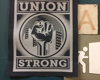 Union Strong cotton patch - 3