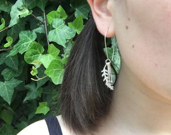 Botanical Drop Earrings