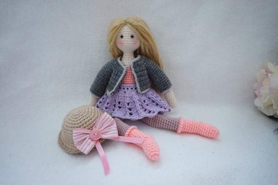 Doll Crochet Pattern Tilda Doll Crochet