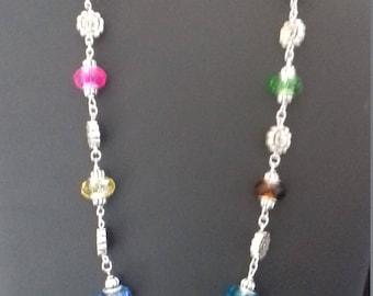 Necklace, fantasy, original, handmade for women