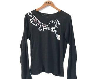 RARE!! Tsumori Chisato Long Sleeve Vintage T-Shirt