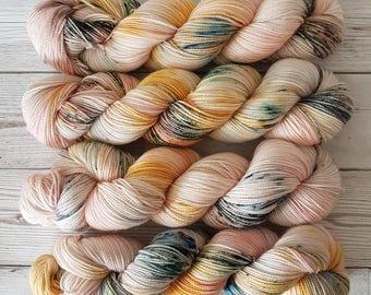 Sunset Highway ~ Bardot ~ Merino Nylon High Twist Sock Yarn