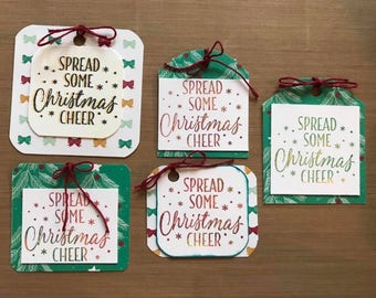Christmas Cheer Gift Tags