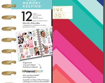 The Happy Memory Keeping Planner BIG - True Story / Bright