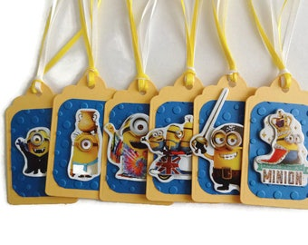 Minions Gift Tags,Kids Gift Tags,Children's Gift Tags,Gift Tags