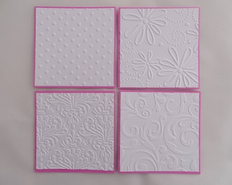 Mini note cards, Mini cards, Note card set, Note cards, Mini card set, Embossed cards, Variety card pack, Mini notecards, Thank you cards