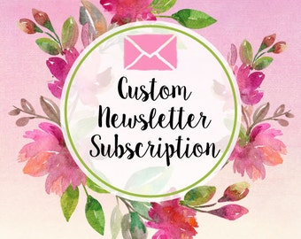 Custom Designed Newsletter Subscription on Wordpress ( Mailchimp, Aweber, iContact etc ) - Newsletter form - Opt in Form