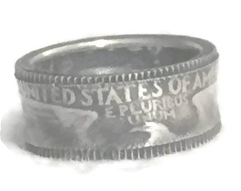 Liberty Coin Ring Size 6  Plus Liberty Coin Band Size 6 Liberty Band Eagle Liberty Ring Size 6 Quarter Ring Size 6 Quarter Band Trench Art