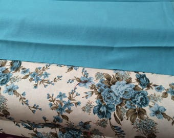 Cotton fabric that goes with the print pink 180 cm