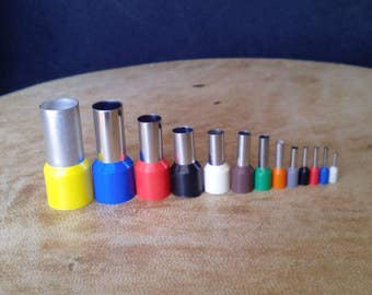 Set of 13 mini cutters. Polymerclay tools. Dot clay cutters. Clay tools.