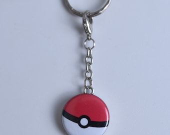 Pokemon Pokeball Keychain