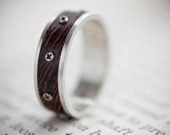 Steampunk Ring - Size Medium Q/8