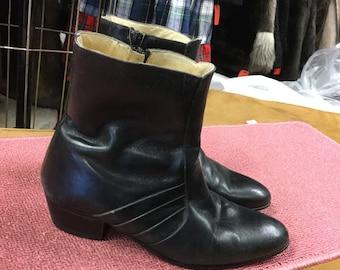 Black Ankle Boots men's 7 Giovanni