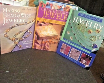 Making And Creating Jewelry Wire And Bead Jewelry Book Lot Of 3