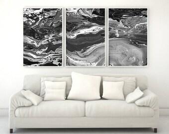 3 Panel Canvas Original Art