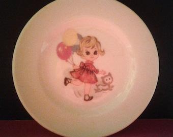 Big eyed tea set plate - 1960's - Japan