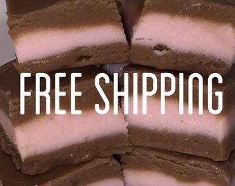Free Shipping, Cherry Chocolate Fudge, Creamy Fudge