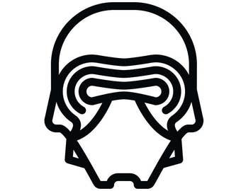 Kylo Ren Decal Star Wars Themed Decal