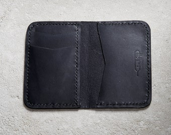 The Alderman Leather Wallet Huron Trading Company