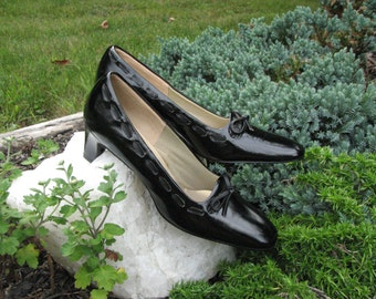 Vintage Air Step Shoes - Black Shoes